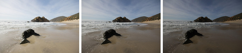 HDR Bracketed Shots: Pfeiffer State Beach