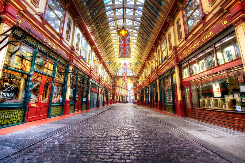 Travel Photography Blog: London. Leadenhall Market.