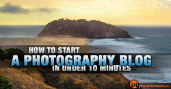 How to Start a Photography Blog in Under 10 Minutes