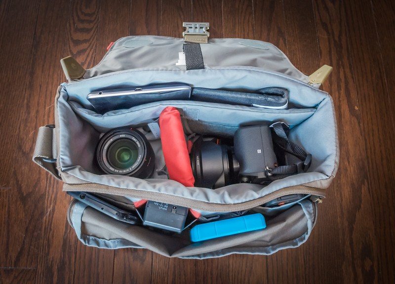 Sony A6000 Review - Camera Bag