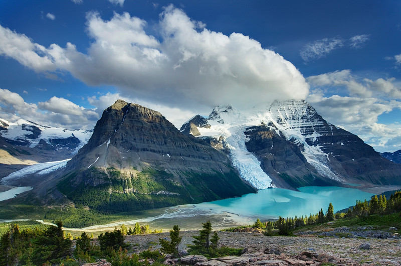 Photo by travel photographer Alan Majchrowicz: Canada. British Columbia. Mount Robson