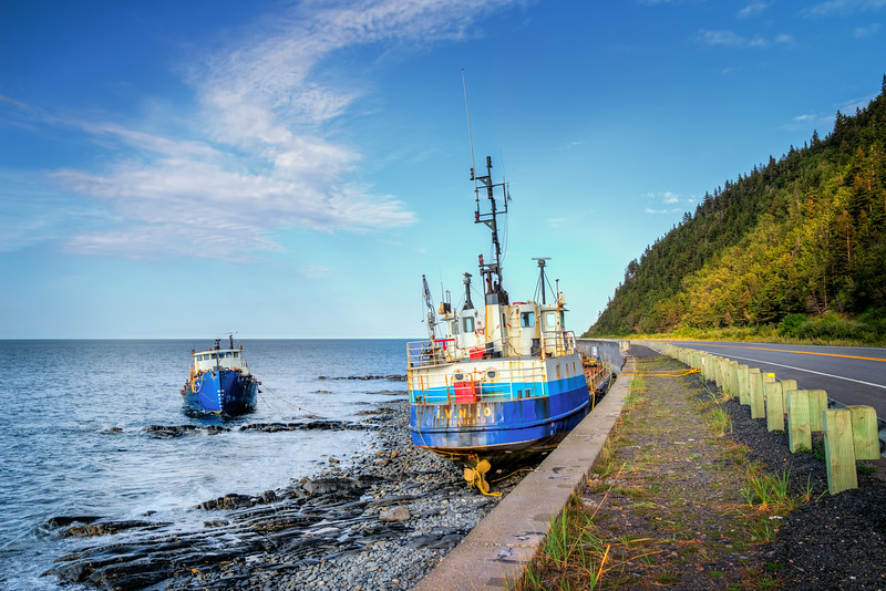 Travel Photography Blog: Gaspe Coastal Drive - Grande-Vallée