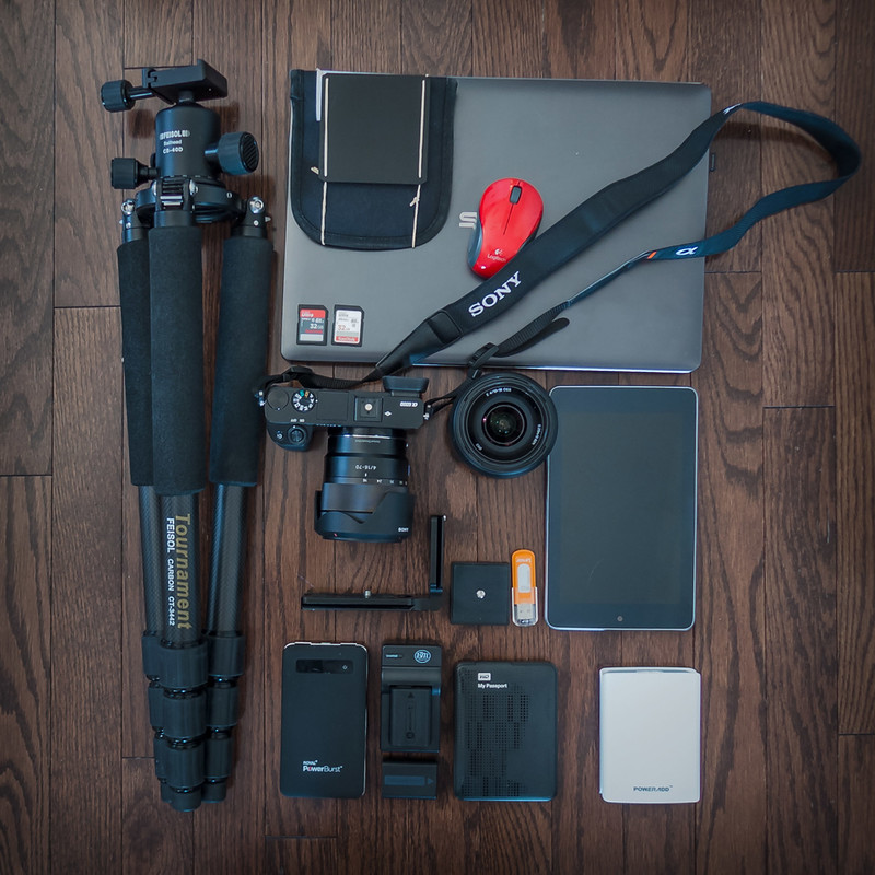 Photography Equipment for Travel Photography