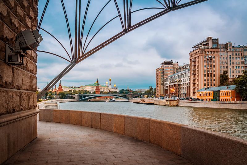 Russia. Moskow. Patriarchy Bridge