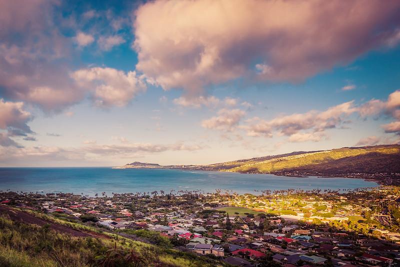 Diamond Dead Mountain at Sunrise (Hawaii)