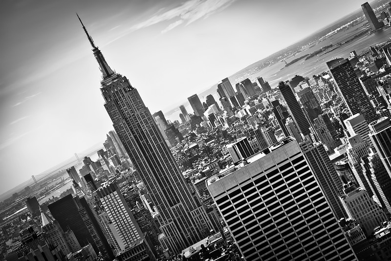 Travel Photography Blog - New York, Tilted View