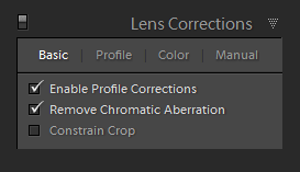 Lightroom Panorama: Shooting and Stitching Panorama In Lightroom 1