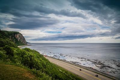 Gaspe Peninsula (Quebec, Canada). Scenic Coastal Drive