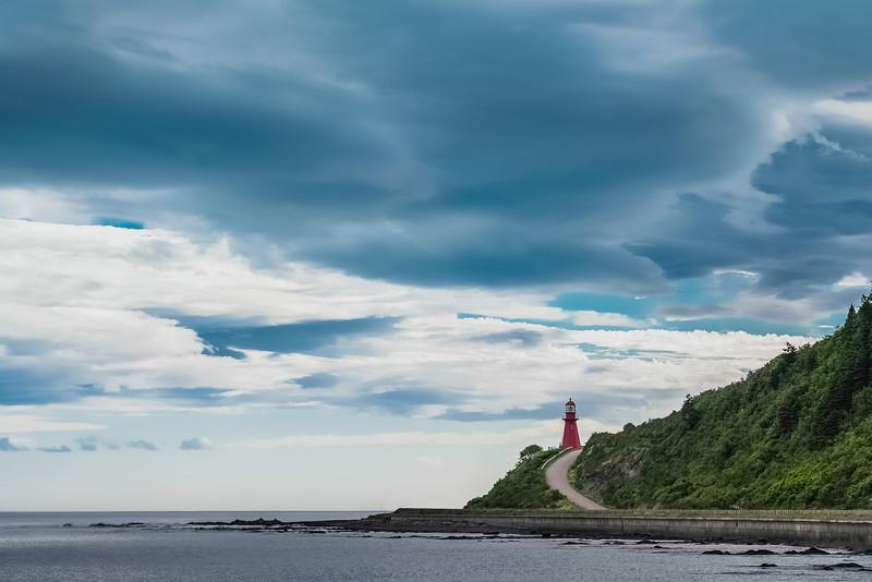 Travel Photography Blog: Gaspe Coastal Drive - La Martre Lighthouse