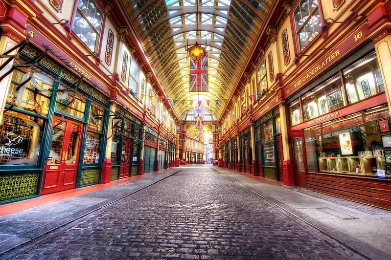 Travel Photography Blog: London. Leadenhall Market.