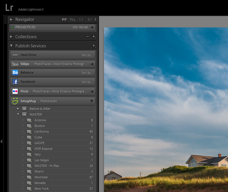 SmugMug Lightroom Plugin