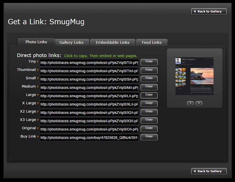 SmugMug Review - Get a Link