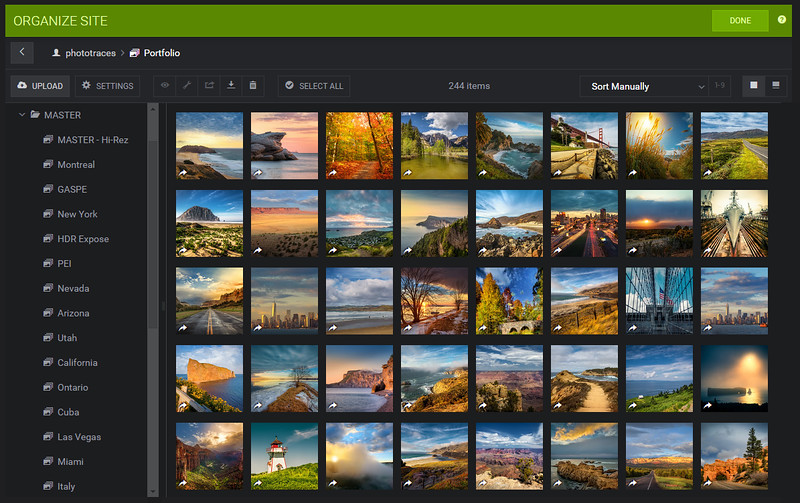 SmugMug - Photo Organization
