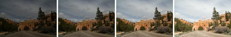 Travel Photography Blog: 4 Bracketed Shots (-2;  -1; 0; +1)