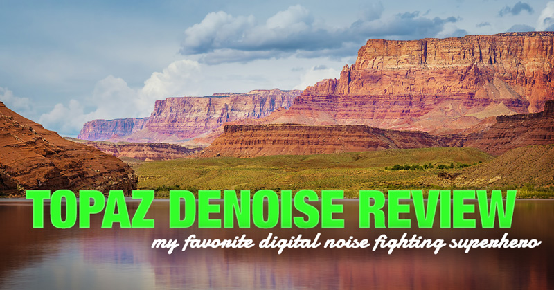 Topaz DeNoise Review - My Favorite Digital Noise Fighting Superhero