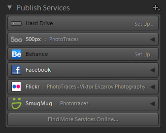 Lightroom Organization - Publishing